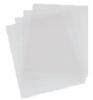Hardfolie dekbladen worden gebruikt als schutblad bij het inbinden van allerlei documenten. Leverbaar in de kwaliteiten Glashelder transparant - Glashelder transparant eenzijdig mat - Hittebestendig - Transparant polyprop (PP) tweezijdig mat. Topkwaliteit die niet snel krast!